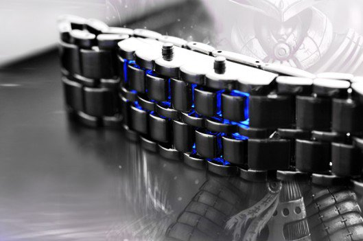 Jam Tangan Iron Samurai Japan LED Watch - 382