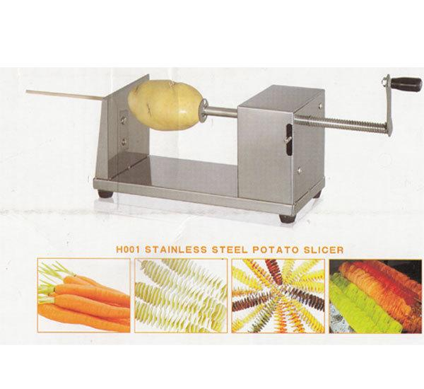Twist Potato Maker Alat Pengiris Kentang Bentuk Spiral Ulir - 377