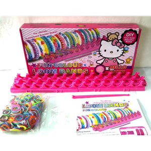 Loom Bands Hello Kitty Frozen Mainan Anak Edukatif - 371