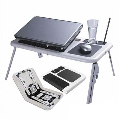 Meja Laptop Portable With Kipas Pendingin (Fan Cooler) - 369