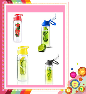 Botol Tritan Fruit Infused Water 2nd Generation - 396