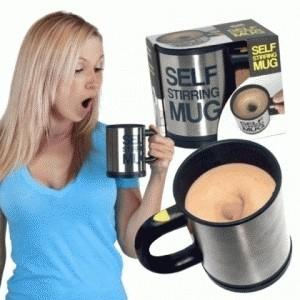 Gelas Pengaduk Otomatis Mug Self Stirring – 418