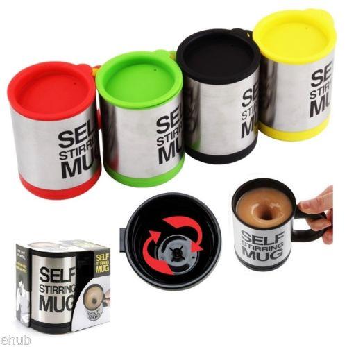 Gelas Pengaduk Otomatis Mug Self Stirring - 418