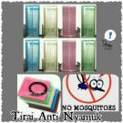 Tirai Pintu Magnet Anti Nyamuk Magnetic Curtain Mesh – 407