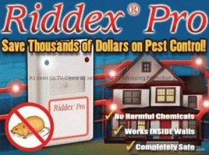 Riddex Pest Control Alat Pengusir Tikus Kecoa Paking Kardus - 423