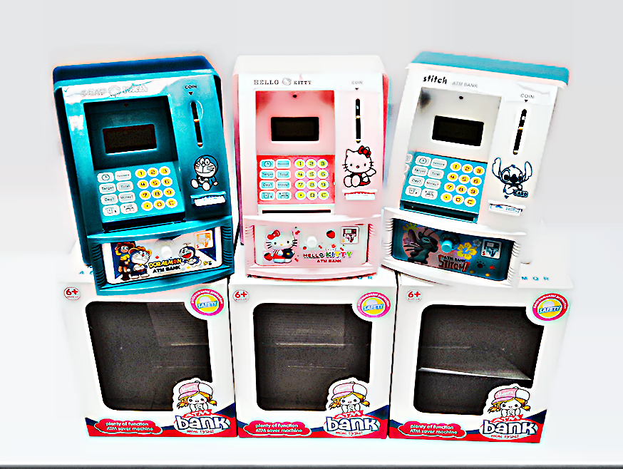 Celengan ATM Besar Hello Kitty Doraemon - 431