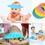 Topi Keramas Anak Kancing Shower Hat – 434