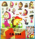 Wall Sticker 3D Frozen Minion Masha Sofia Hello Kitty Doraemon – 435
