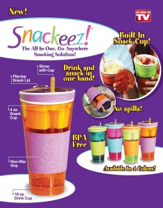 Snackeez As Seen TV Gelas Snack Dan Minuman Anti Tumpah – 457