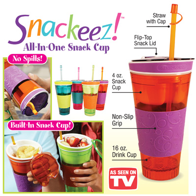 Snackeez As Seen TV Gelas Snack Dan Minuman Anti Tumpah - 457