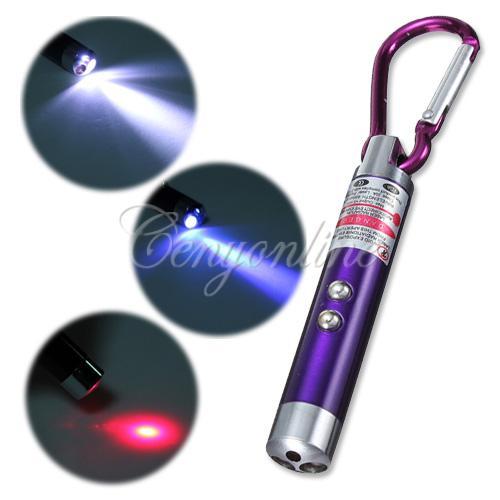 Gantungan Kunci 3in1 UV LED LASER - 453
