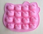 Cetakan Silikon Hello Kitty Mold Coklat Es Puding Jelly Lucu Unik – 466