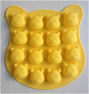 Cetakan Pooh Coklat Es Puding Jelly Unik Lucu Multifungsi - 465