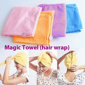 Hair Wrap Magic Towel Handuk Penyerap Air Dengan Cepat - 475
