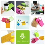 Cup Holder Clip Table Tempat Menaruh Gelas Di Meja – 476