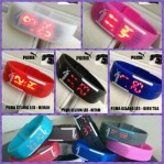 Jam Tangan Gelang LED Karet Rubber LED Watch Nike Puma Adidas – 484