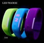 Jam Tangan Gelang LED Karet Rubber LED Watch – 483