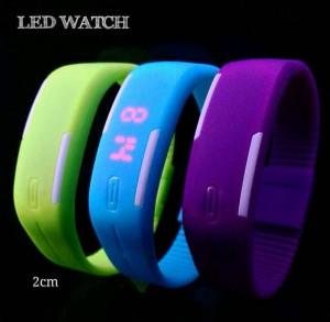 Jam Tangan Gelang LED Karet Rubber LED Watch – 483