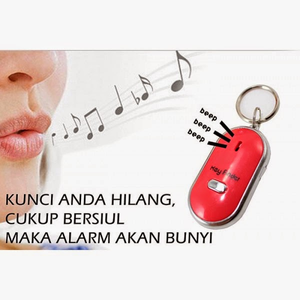 Siul On Off Key Finder Alarm Gantungan Kunci - 480