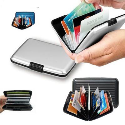 Dompet Kartu Alumunium Card Guard Aluminium Wallet Anti Air - 483