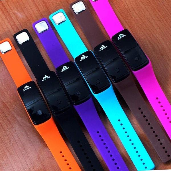 Jam Gelang LED Geneva Nike Adidas Puma Smart Watch - 495