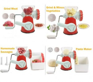 Meat Grinder Penggiling Daging Sayur Buah Manual – 487