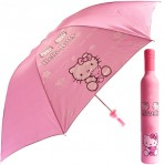Payung Botol Karakter Doraemon Hello Kitty Mickey Pooh Umbrella Bottle – 498