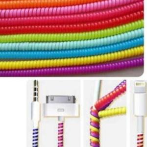Kabel Pelindung Warna Cord Cable Holder Protector - 482