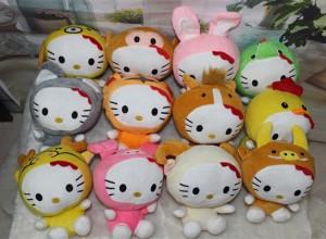 Boneka Rekam Zodiak Shio Hello Kitty Recorded Dolls – 501