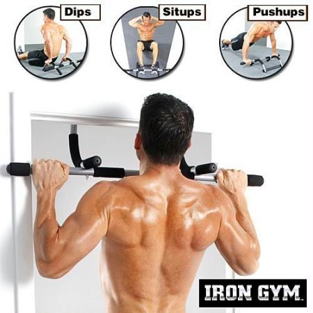 Iron Gym Extreme As Seen TV Alat Fitness Portable Murah - 516