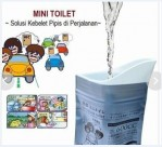 Mini Toilet Disposable Urinal Bag Emergency Kantong Ajaib – 511