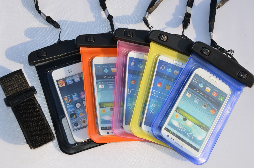 Universal Waterproof Bag Smartphone Cover Cell Phone Anti Air - 513