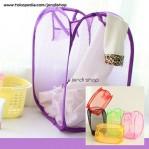Keranjang Lipat Baju Kotor Laundry Bag Polos – 531
