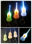 Korek Kuping Lampu LED Gantungan Kunci Model Biola Earpick Souvenir – 575