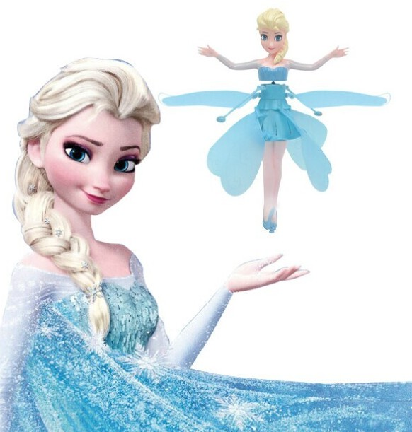 Mainan Peri Terbang Flying Frozen Elsa Magic Dolls - 579