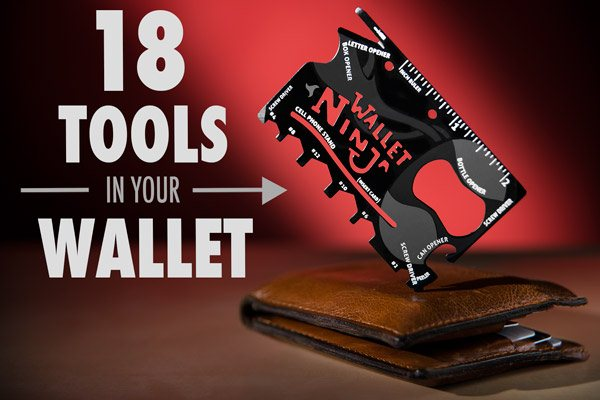 Wallet Ninja 18in1 Multifungsi Survival Tools - 564