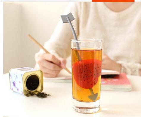Sendok Penyeduh Teh Rempah Bentuk Panah Hati Tea Love Heart Strainer - 563