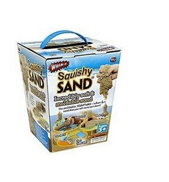 Squishy Play Kinetik Sand Mainan Edukasi Pasir Ajaib 1 Set Perlengkapan - 561