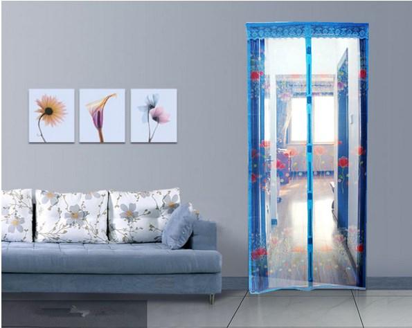 Tirai Pintu Magnet Anti Nyamuk Karakter Motif Bisa Langsung Di Pasang - 535