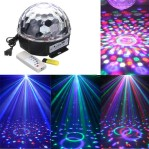 Lampu Disco Musik Speaker USB LED Crystal Magic Ball Light – 608