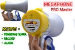MEGAPHONE TOA PENGERAS SUARA ALARM REKAM RECHARGEABLE SIRINE DEMONSTRASI – 604