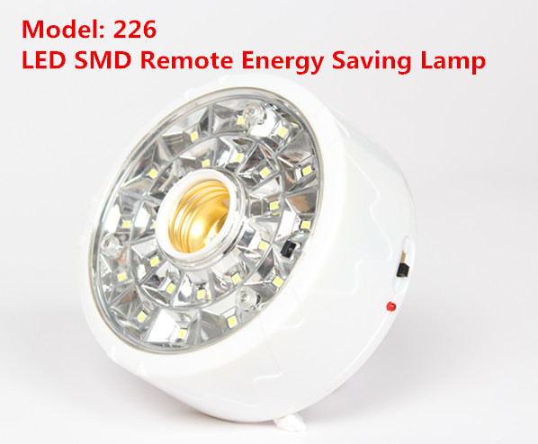 Lampu Emergency Remote 23SMD Fitting Lamp Darurat - 615