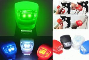 Lampu Sepeda Silikon Anti Air Gowes Night Lamp Aksesoris – 619