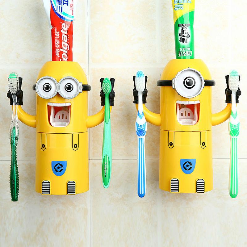 Dispenser Odol Pasta Gigi Karakter Minion Lucu - 631