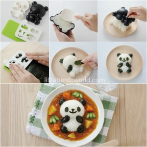 Cetakan Panda Set Mold Rice Bread Cookies Dapur Kitchen – 637