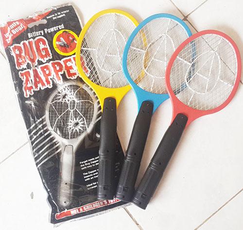 Raket Nyamuk Baterry Mosquito Killer Bug Zapper 628