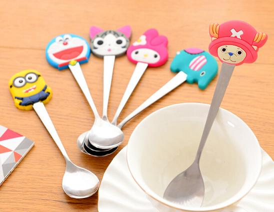 Sendok Kecil Karakter Tea Spoon Stainless Souvenir Anak - 627