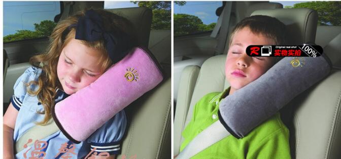 Car Seat Belt Pillow : Bantal Untuk Dipasang Di Sabuk Mobil - 663