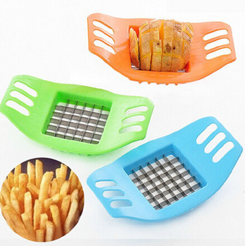 Potato Cutter / Slicer Chopper French Fries / Alat Pemotong Kentang Pisau - 662