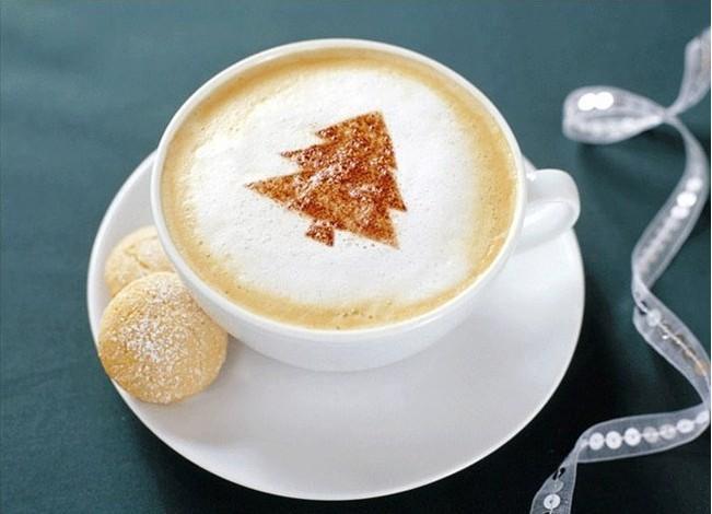 Coffee Mold Foam Latte Cetakan Busa Kopi 16 Set Motif Unik Lucu - 651